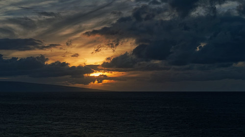 Sunset over the Northern Shore of Lanai | by Whidbey LVR
