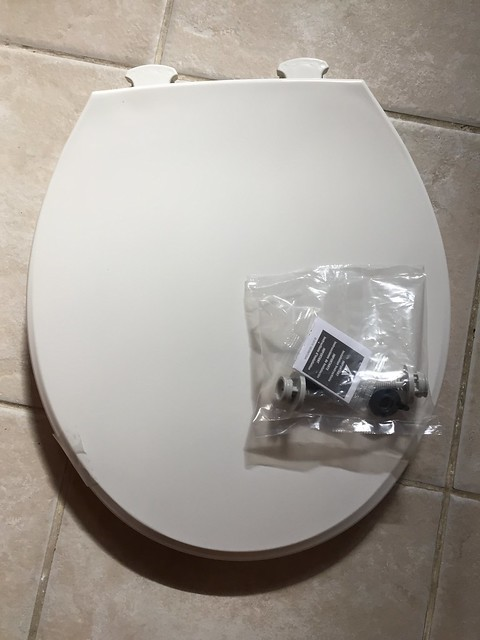 Replaced both toilet seats