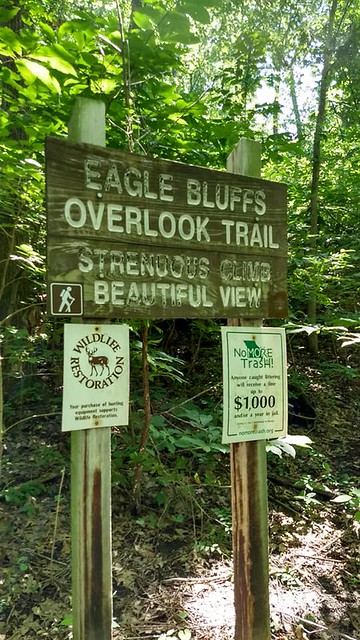 Eagle Bluffs Overlook Trail
