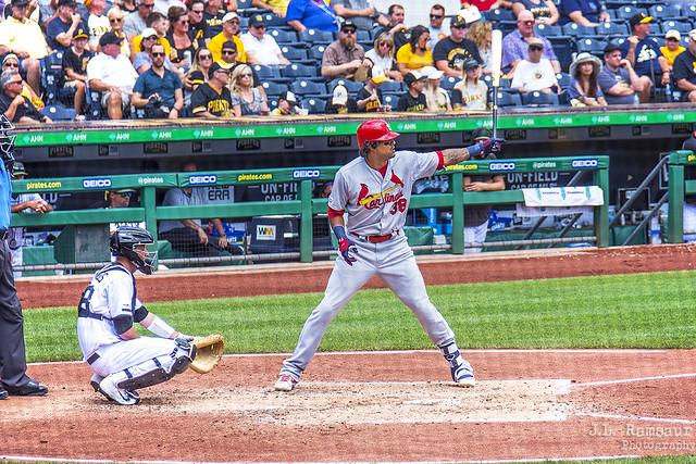 Routine - #38 José Martinez - Cardinals at Pirates