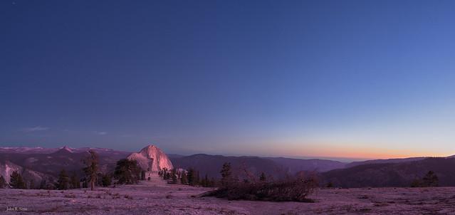Golden Hour Half Dome