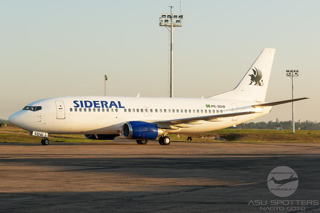 B737-300 de la aerolínea Sidera Air Cargo