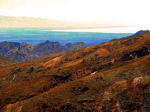 santarosasanjacintomountainsnm sanbernardinonationalforest palmdesert california coachellavalleyvistapoint photo digital summer desert mountains saltlake vista landscape