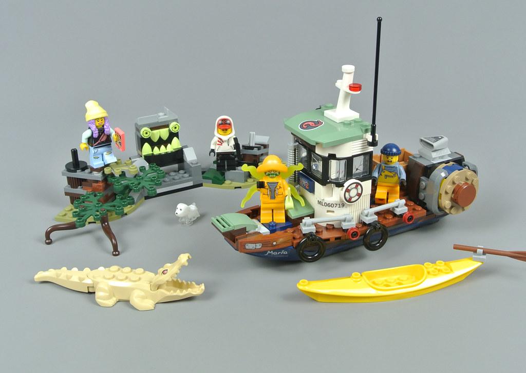 Review: 70419 Wrecked Shrimp Boat   Brickset: LEGO set guide and ...