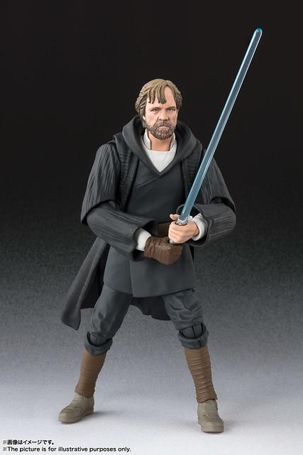 S.H.Figuarts 《星際大戰:最後的絕地武士》「路克・天行者 -BATTLE OF CRAIT- 」!ルーク・スカイウォーカー -バトル・オブ・クレイト Ver.-(STAR WARS: The Last Jedi)