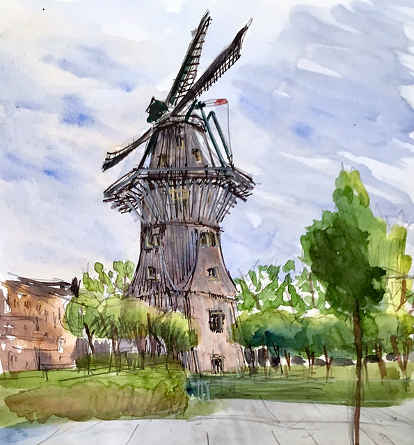 190725 De Gooyer windmill Amsterdam