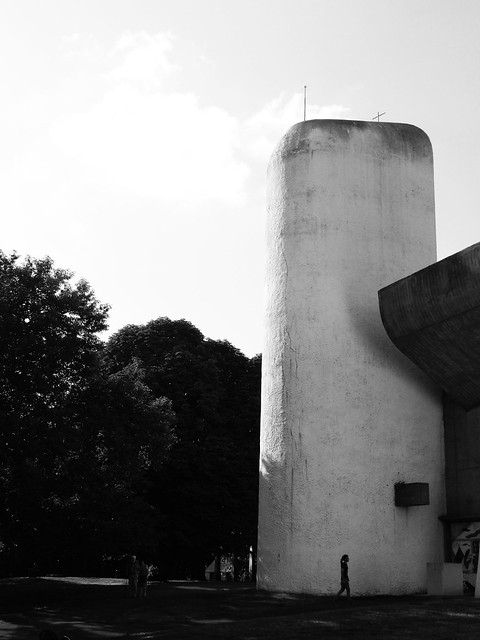 Capilla Notre Dame du Haut - Notre Dame du Haut Chapel Arquitecto - Architect: Le Corbusier Ronchamp  1950 - 1955