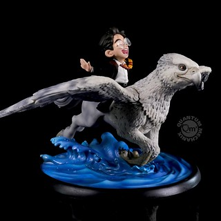 Whoo-Hoo~! Quantum Mechanix Q-Fig Max 系列《哈利波特》哈利·波特和巴嘴 Harry Potter and Buckbeak Limited Edition Q-Fig Max