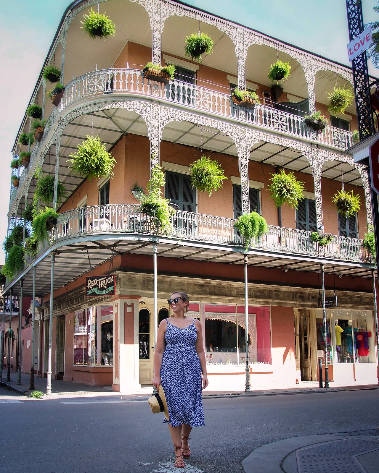 Classic New Orleans Bourbon St French Quarter Photo