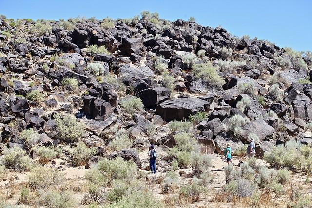 Rocks and Tourists