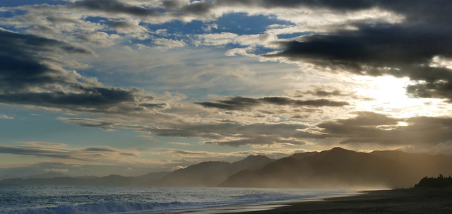 South Bay Kaikoura NZ.