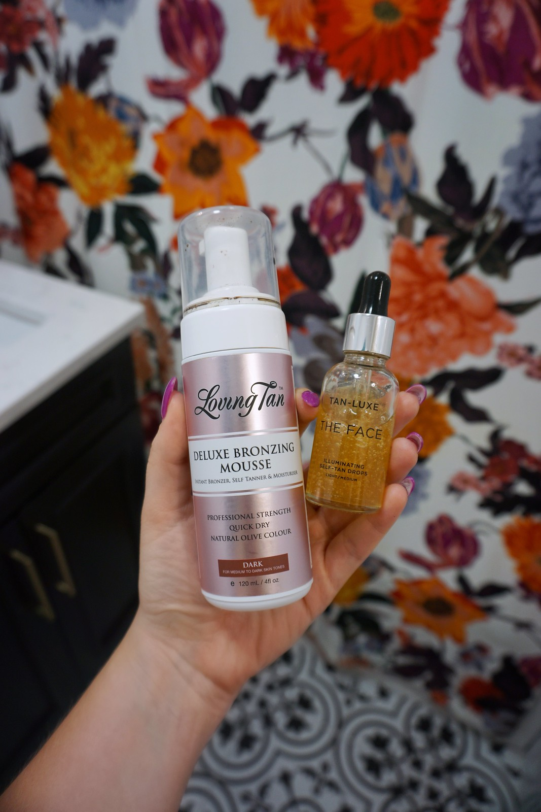 Loving Tan Deluxe Bronzing Mousse and Tan Luxe The Face