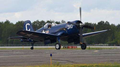 2019 Duluth Mn (DLH) Airshow   Vought F4U Corsair   NX72378