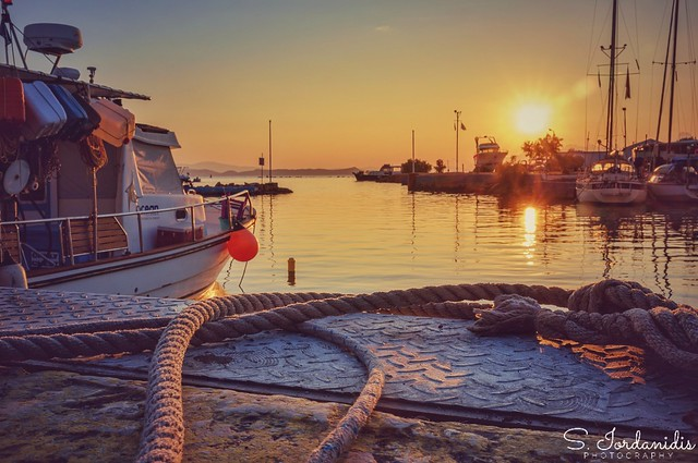 Sunrise at the Port