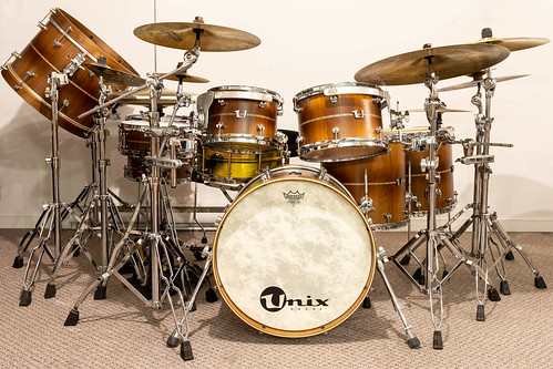 Unix Stave Walnut Drums | by sfmill13