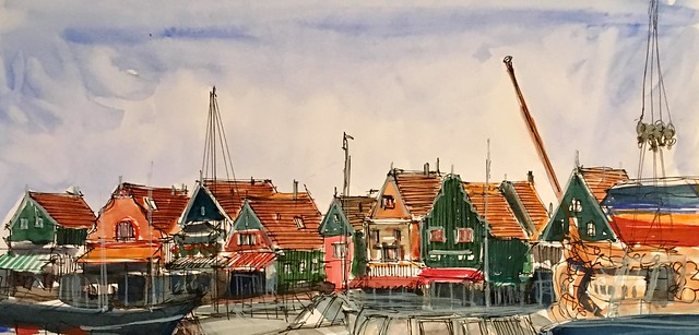 190723 Volendam marina
