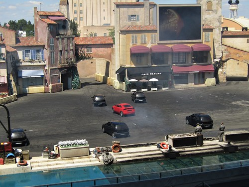 Car Stunt Show at Walt Disney Studios in Paris