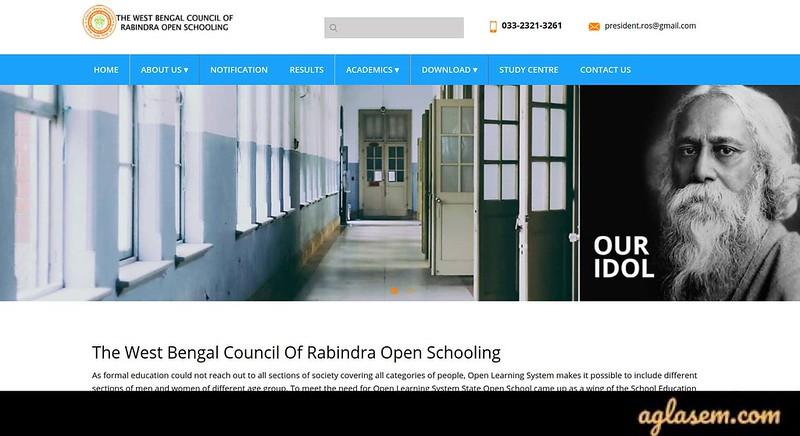 Rabindra Open Schooling HS Routine December 2019