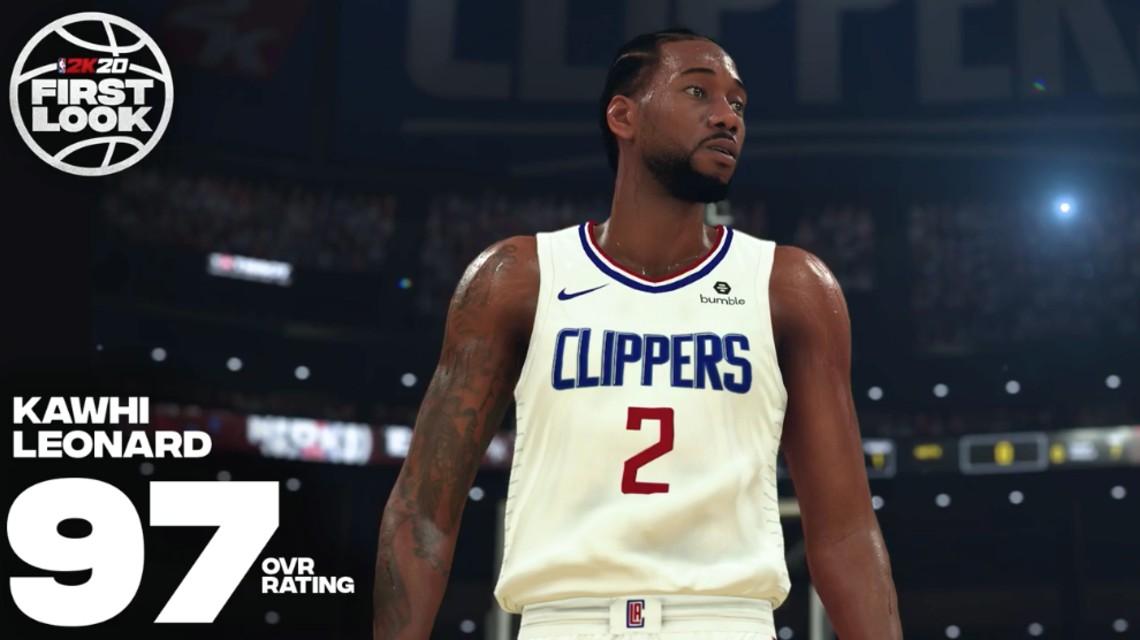 NBA 2K20 Overall Ratings (Oyuncu Güçleri)