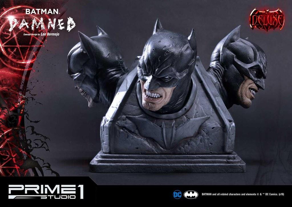 Prime 1 Studio DC Comics【蝙蝠俠:詛咒】バットマン:ダムド MMDC-39 1/3 比例全身雕像作品 普通版/DX版