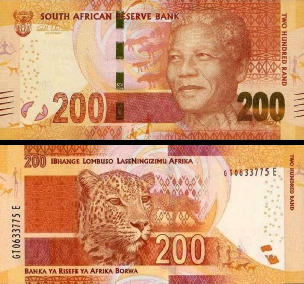 200 Randov Južná Afrika 2013, Mandela P142
