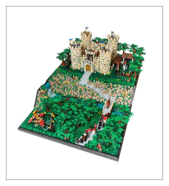 Molly's Castle MOC - 4
