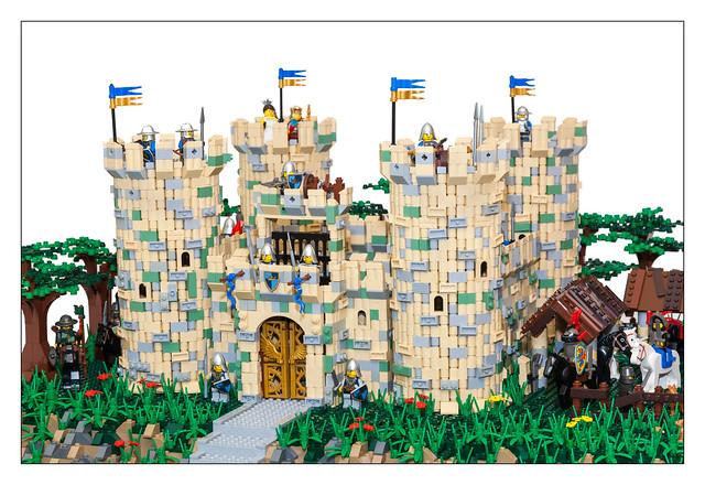 Molly's Castle MOC - 14