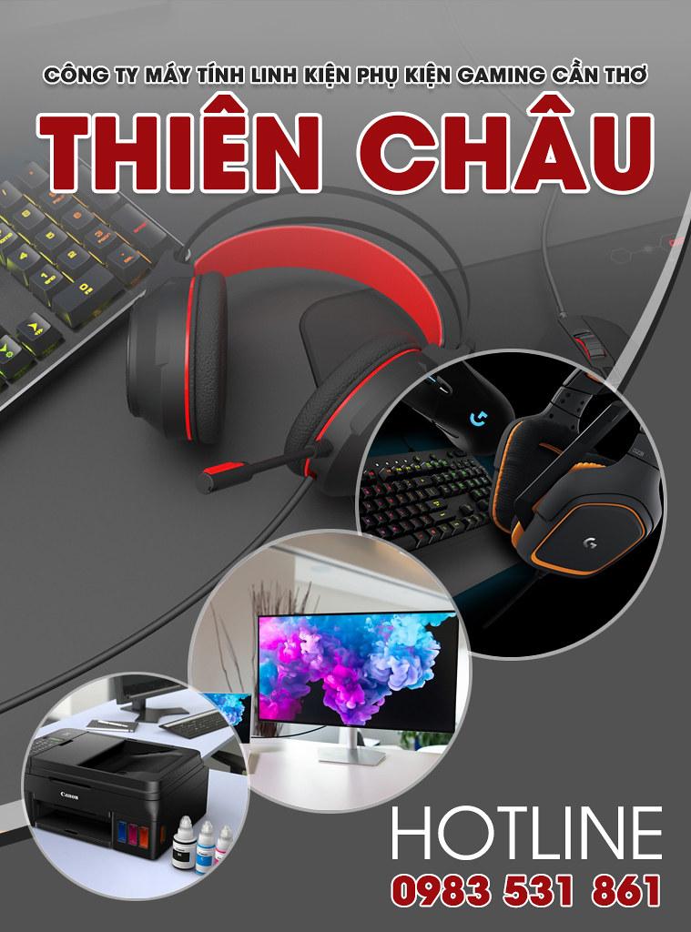 Máy tính Linh kiện Phụ kiện gaming Cần Thơ - THIÊN CHÂU 0939443075
