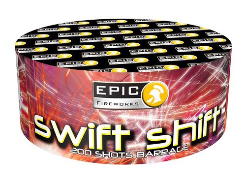 SWIFT SHIFT 200 SHOTS CAKE #EpicFireworks