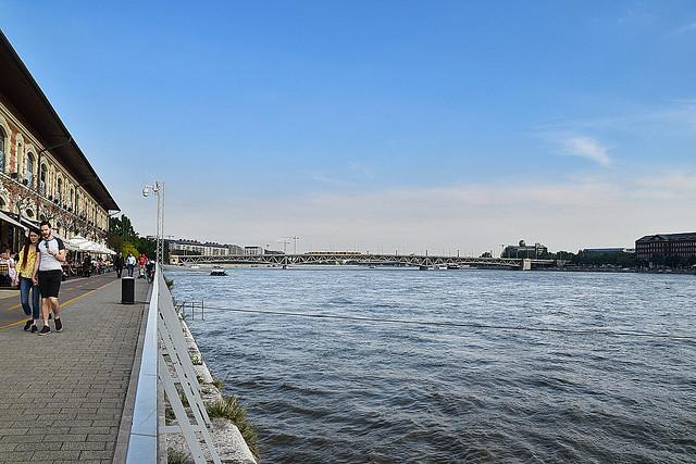 Danube River, Budapest, Hungary.