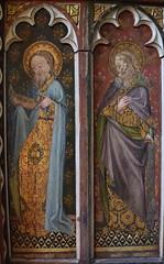 Ranworth screen: St Jude and St Matthew