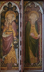 Ranworth screen: St Philip and St James the Less