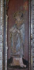 Ranworth screen: St Thomas of Canterbury