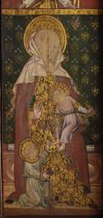 Ranworth screen: Holy Kinship, St Mary Salome