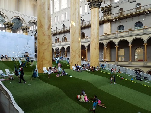 Lawn at the Building Museum