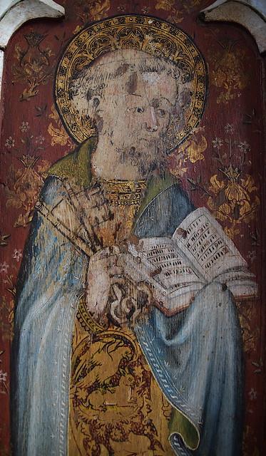 Ranworth screen: St Peter
