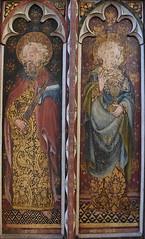 Ranworth screen: St Paul and St John