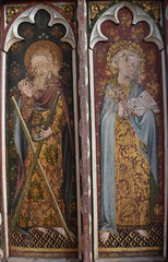 Ranworth screen: St Andrew and St Peter
