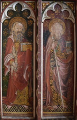 Ranworth screen: St Bartholmew and St James