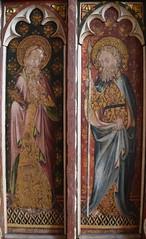 Ranworth screen: St Simon and St Thomas