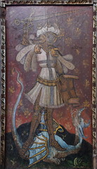 Ranworth screen: St George