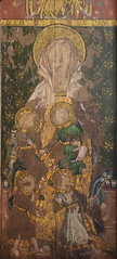 Ranworth screen: Holy Kinship, St Mary Cleophas