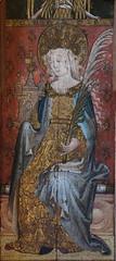Ranworth screen: St Barbara