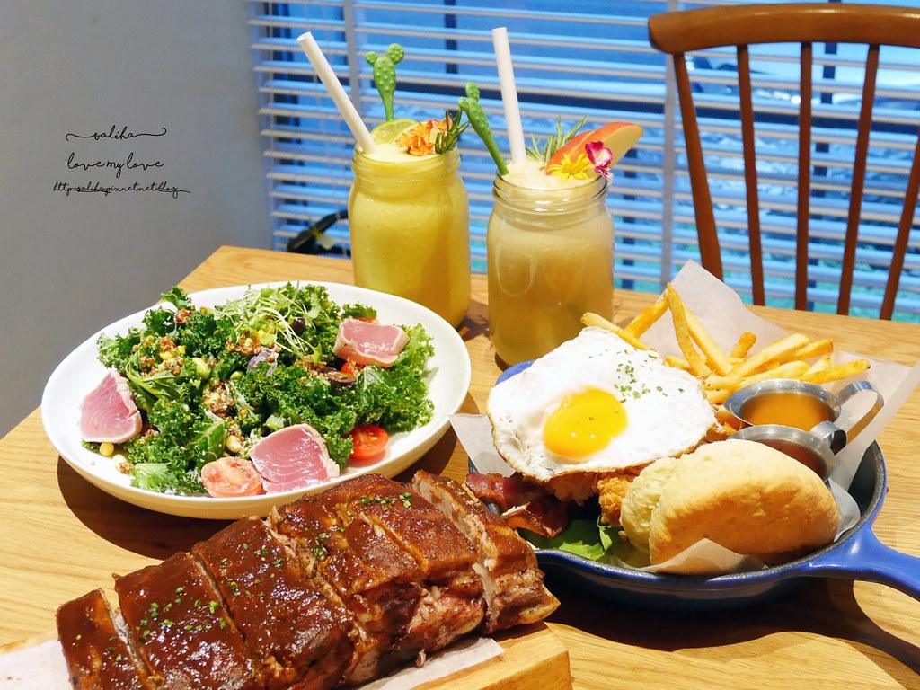 台北中山區中山北路Buttermilk摩登美式餐廳推薦沙拉輕食漢堡下午茶咖啡 (6)