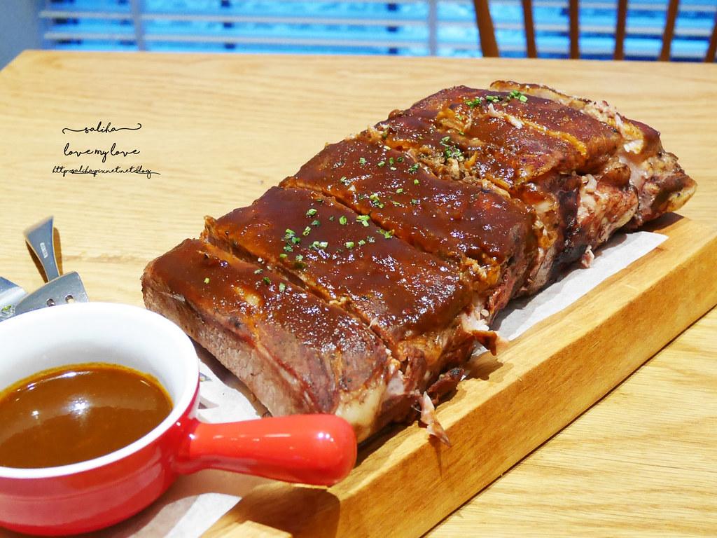 台北中山區中山北路Buttermilk摩登美式餐廳推薦沙拉輕食漢堡下午茶咖啡 (5)