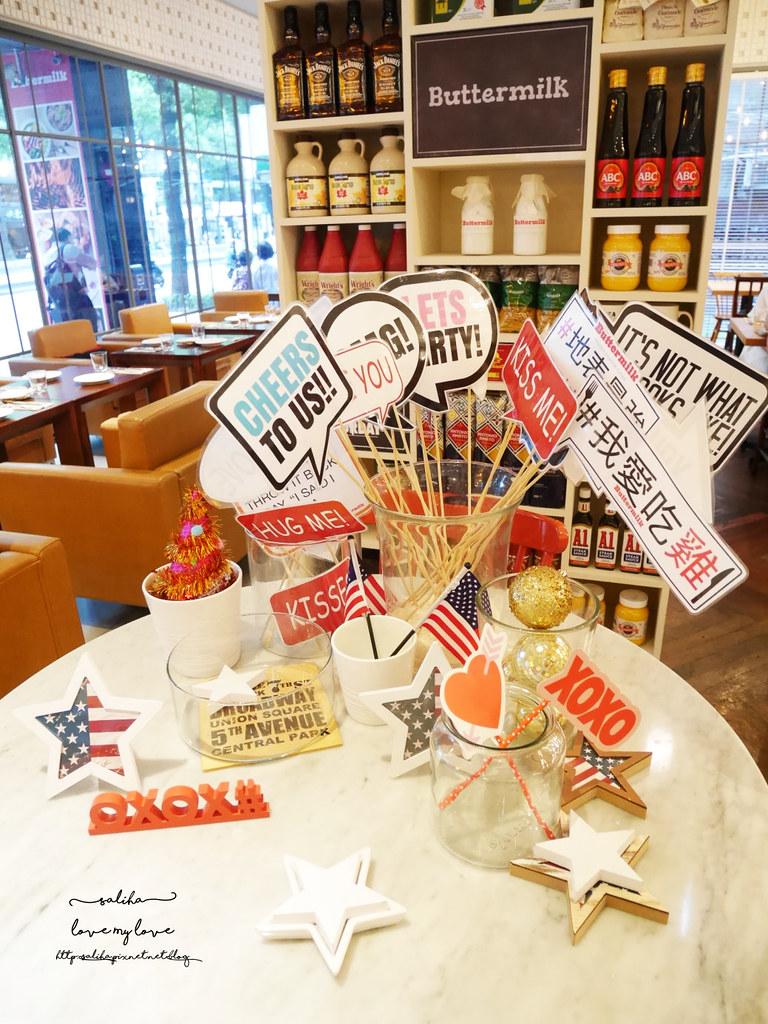 台北中山站雙連站美食Buttermilk摩登美式餐廳漢堡排餐炸雞 (1)