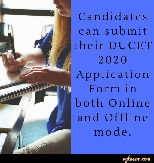 DUCET 2020 Application Form