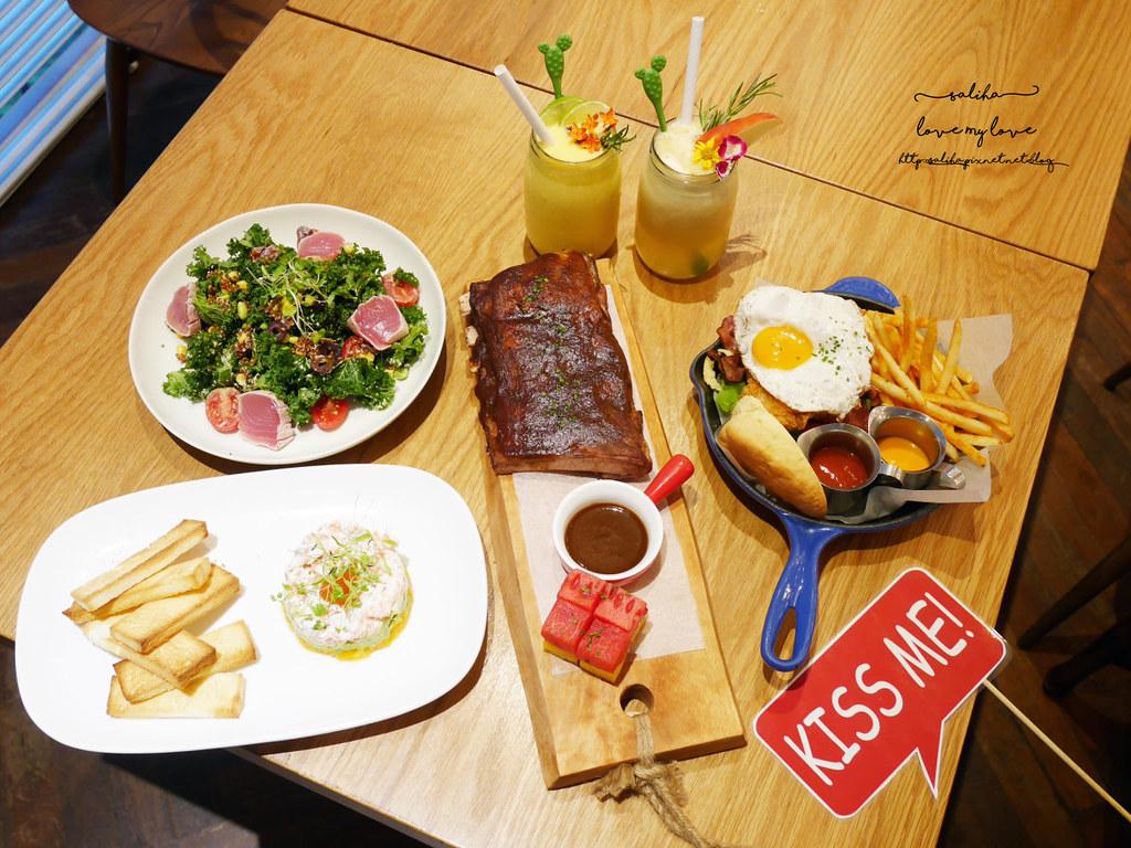 台北中山區中山北路Buttermilk摩登美式餐廳推薦沙拉輕食漢堡下午茶咖啡 (4)