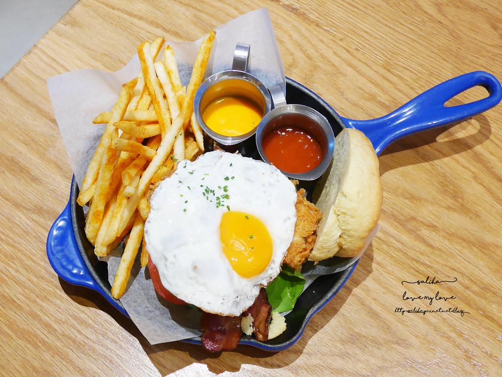 台北中山區中山北路Buttermilk摩登美式餐廳推薦沙拉輕食漢堡下午茶咖啡 (1)