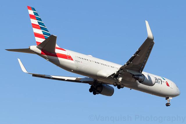 N384AA American Airlines B767-300 Madrid Barajas